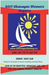 2017 Okanagan Women's Sailing Poster