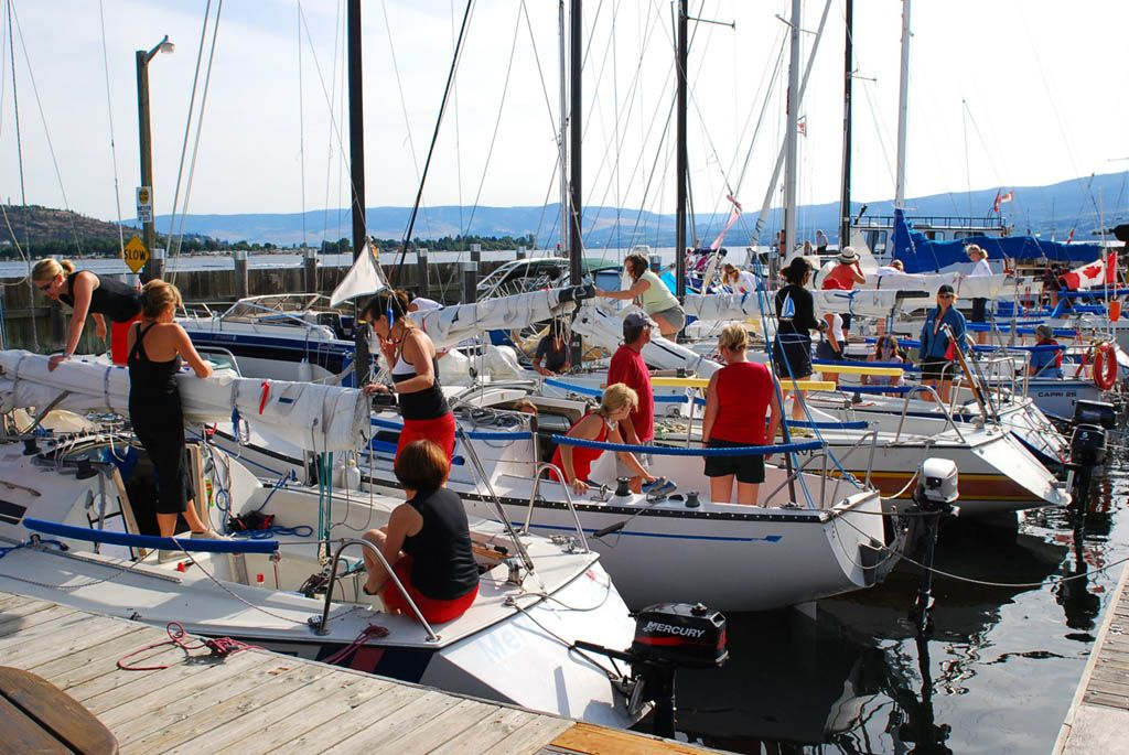 Okanagan Women's Keelboat Regatta